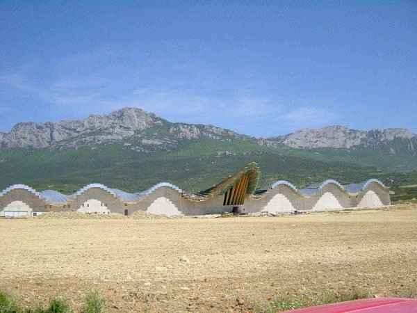 Bodegas Ysios en Laguardia